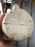 画像8: Vintage Skull Porcelain Decanter Bottle (B760)