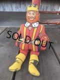 70s Vintage Burger King Cloth Rag Pillow Doll (B758)