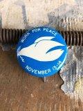 Vintage Badge PEACE (B771)