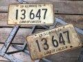 70s Vintage American License Number Plate 1971 13 647 (B811)
