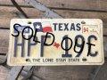 90s Vintage American License Number Plate HPF 19C (B797)