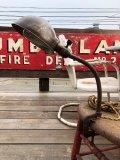 Vintage EAGLE Industrial Gooseneck Cast Iron Clamp On Lamp (B825)