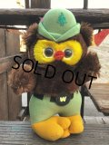 70s Vintage Woodsy Owl Plush Doll (B833)