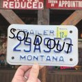 Vintage Motorcycle & Trailer License Plate 29A953 (B867)