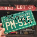 70s Vintage Vintage Motorcycle & Trailer License Plate PM-915 (B875)