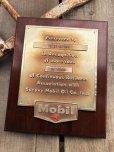 画像9: Vintage Mobil Gas Service Station Sales Award Plaque (B827)