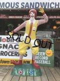 Vintage Ronald McDonald Store Display Life Size Statue  (B830)