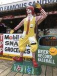画像4: Vintage Ronald McDonald Store Display Life Size Statue  (B830)