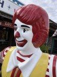 画像10: Vintage Ronald McDonald Store Display Life Size Statue  (B830)