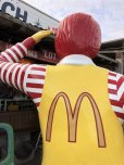画像12: Vintage Ronald McDonald Store Display Life Size Statue  (B830)