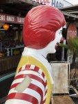 画像11: Vintage Ronald McDonald Store Display Life Size Statue  (B830)