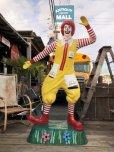 画像20: Vintage Ronald McDonald Store Display Life Size Statue  (B830)