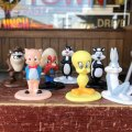 Vintage 1987 Arby's Looney Tunes Figures Complet Set (B836)