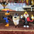Vintage 1989 Arby's Looney Tunes Figures Complet Set (B835)