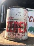 Vintage DUPONT ZEREX ANTI-FREEZE One Gallon Can (B843)