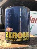Vintage DUPONT ZERONE ANTI-FREEZE One Gallon Can (B839)