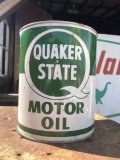 Vintage QUAKER STATE Motor Oil 1GAL Can (B844)
