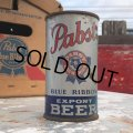 Vintage Pabst Blue Ribbon Beer Can (B858)