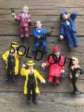 Vintage Dick Tracy PVC Figures Complete set (B897)