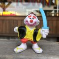 80s Vintage Mego Clown Around PVC (B890)