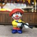 80s Vintage Mego Clown Around PVC (B892)