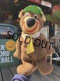 Vintage Knickerbocker Yogi Bear Plush Doll (B909)