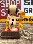 画像2: 70s Vintage Telephone Snoopy (B913) (2)