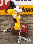 画像6: 70s Vintage Telephone Mickey Mouse (B914)