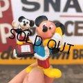 Vintage Disney Mickey Mouse PVC / Telephone (B915)