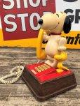 画像1: 70s Vintage Telephone Snoopy (B913) (1)