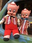 画像12: 60s Vintage Mattel Hand Puppet Porky Pig (B918)