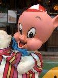 画像8: 60s Vintage Mattel Hand Puppet Porky Pig (B918)