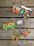 画像6: Vintage Dolly Toy Pin Ups Wall Decor Casey Jr. Circus Train Set (B920)