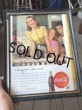 40s Vintage Coca-Cola Advertising W/Frame (B926)