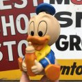 Vintage Disney Baby Donald Duck Doll Shelcore 18.5cm (B946)