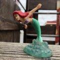 Vintage Disney The Little Mermaid Ariel PVC Figure (B997)