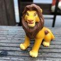 Vintage Disney The Lion King Mufasa PVC Figure (B990)
