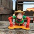 Vintage Disney The Jungle Book King Louie PVC figure (B979)