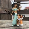 Vintage Disney Aladdin Jasmine & Rajah PVC Figure (B007)