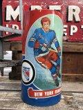 Vintage NHL New York Rangers Trush Can (B099)