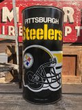 Vintage NFL Pittsburgh Steelers Trush Can (B096)