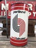 Vintage NBA Portland Trail Blazers Trush Can (B098)