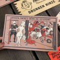 50s Vintage Comic Card Plak Sign (B120)
