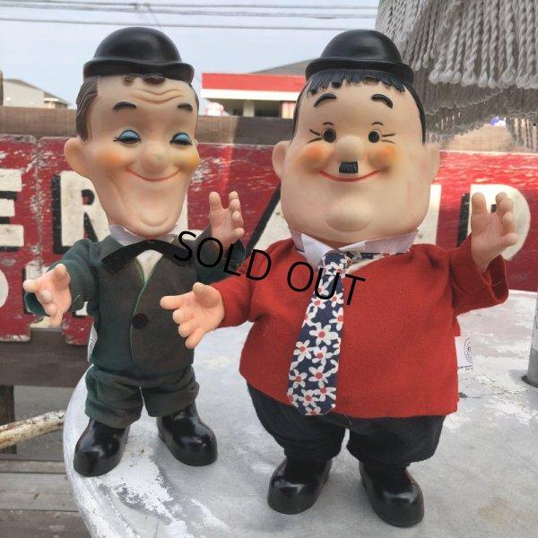 画像2: 70s Vintage Laurel & Hardy Doll Set (B121)
