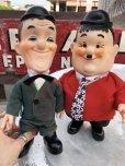 画像1: 70s Vintage Laurel & Hardy Doll Set (B121) (1)
