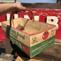 Vintage Grocery Store Tomato Handy Basket (B125)