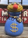 Vintage Play Pal Bank $ Mr.Money Bags (B134)