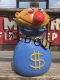 Vintage Play Pal Bank $ Mr.Money Bags (B136)