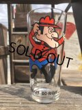 70s Vintage Pepsi Glass Dudley Do-Right (B143)