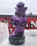 Vintage KSU Wildcats Purple Power Statue (B205)